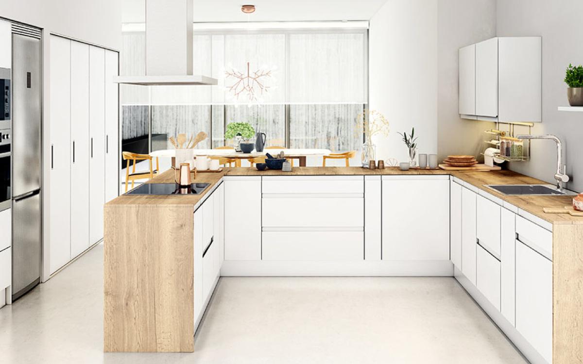 Ferreteria Angara especialistas en herrajes y accesorios para muebles de cocina.